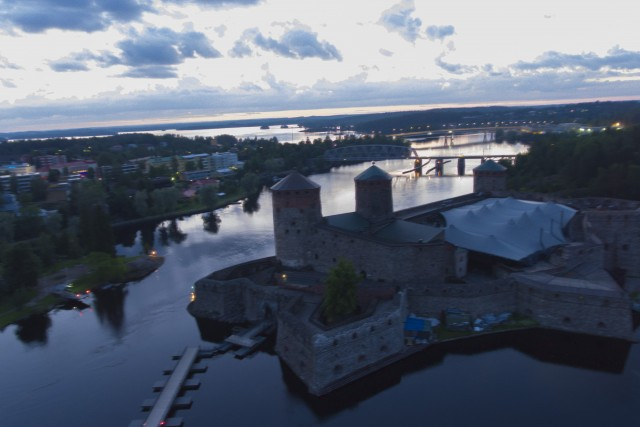 Savonlinna. Finland. Ovanlinna