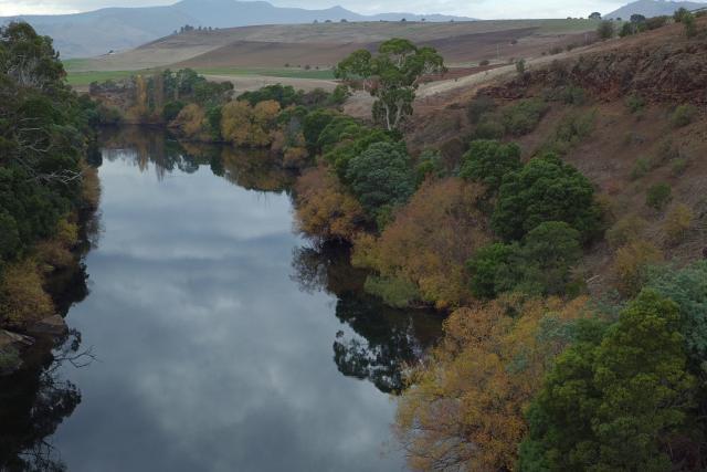 Derwent River, Tasmania, Australia