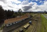 """Estación de tren """"La caro""""."""