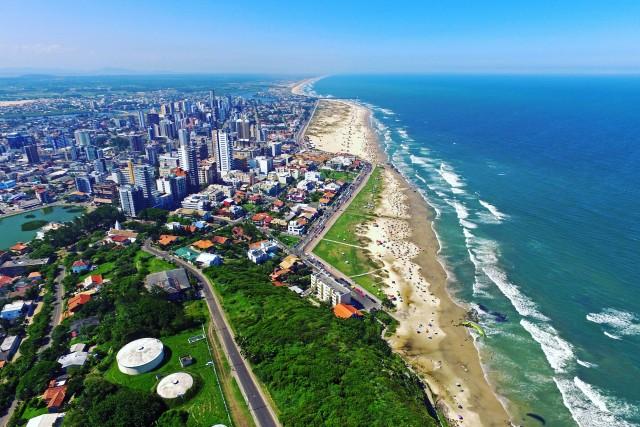 Torres Beach, Torres, Rio Grande do Sul, Brazil