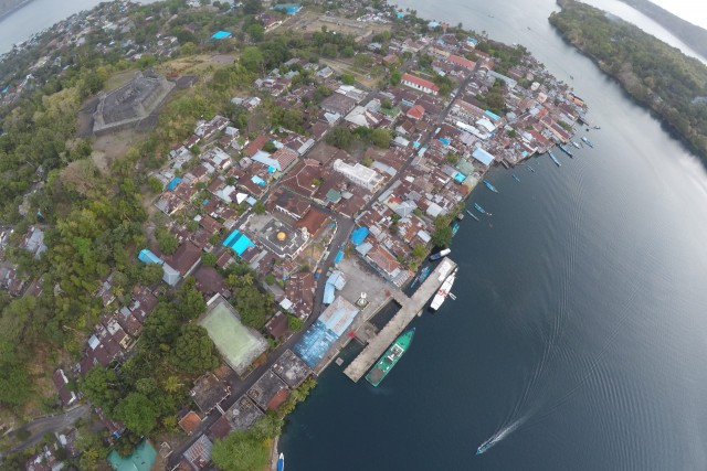 Banda Neira island, Maluku, Indonesia