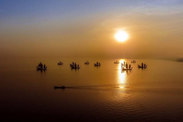 Lake Tai, Southern China