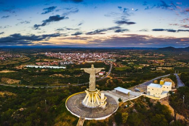 Cristo Redentor, Itaporanga, Paraiba, Brazil