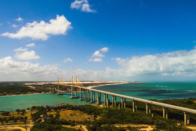Newton Navarro Bridge, Natal, Brazil