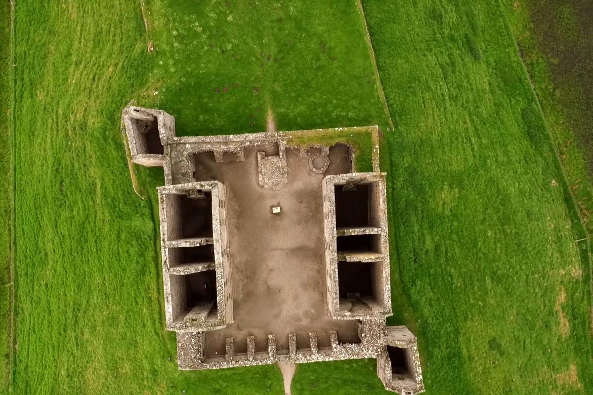 Ruthven Barracks Kingusssie Scotland