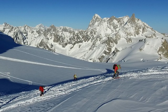 Alpinist at Chamonix