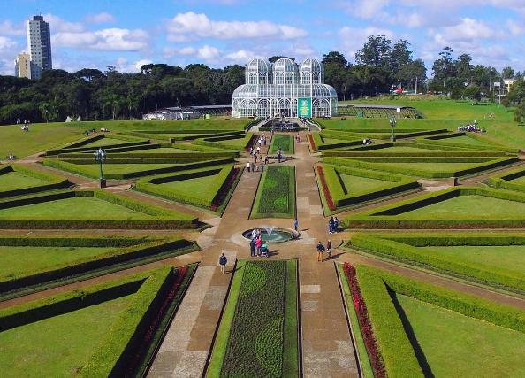 Botanical Garden, in Curitiba, Brazil