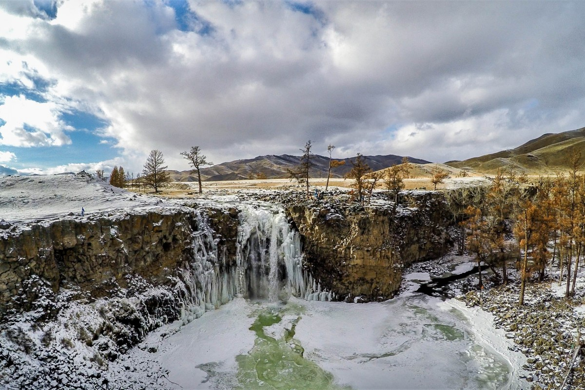 Orkhon Waterfalls, Central Mongolia