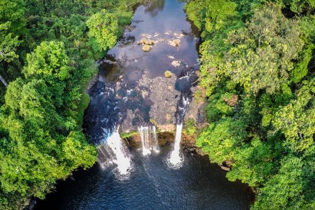 E-Tu waterfall, Bolaven Plateau, Laos