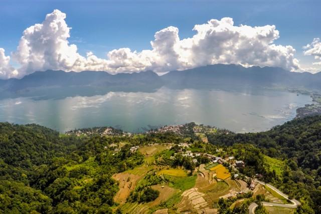 Maninjau lake, Sumatra island, Indonesia