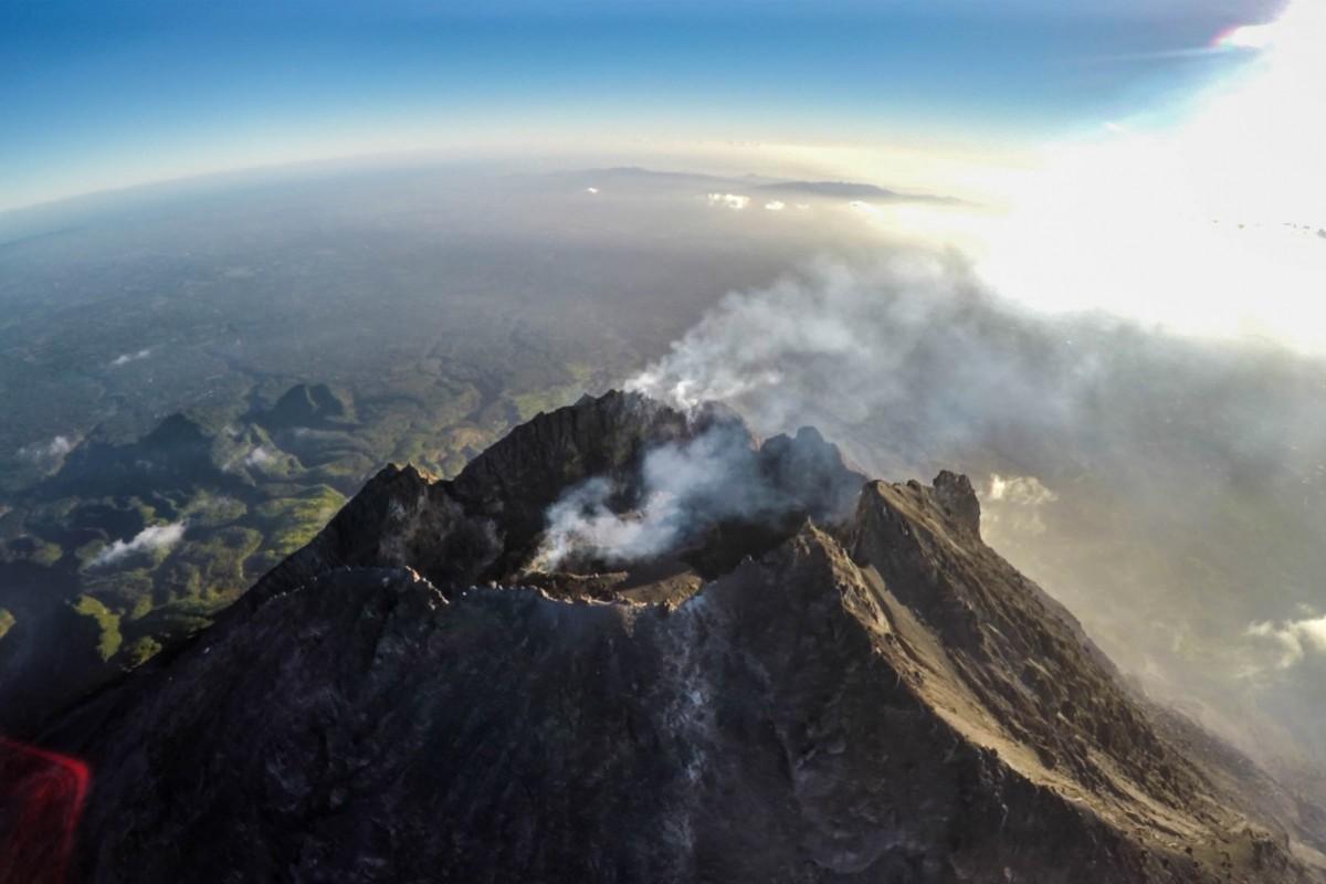Mount Merapi Java Island Indonesia Dronestagram
