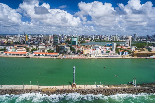 Parque das esculturas, Recife, Pernambuco, Brasil