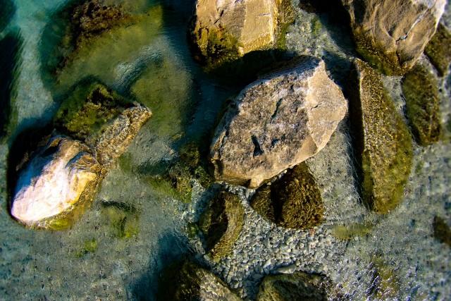 Rocks, Slatine, Island Ciovo, Croatia