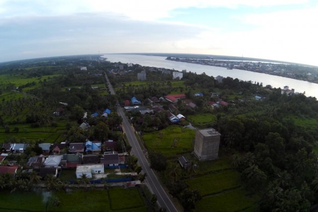 kuala kapuas, central borneo, indonesia