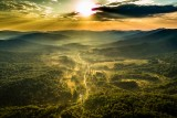 Carphatian Sunset, Bieszczady Mountains, Poland