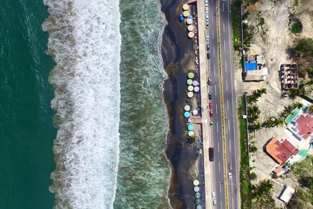 Playa Miramar, Manzanillo.