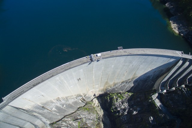 Contra Dam (Verzasca Dam), Ticino, Switzerland