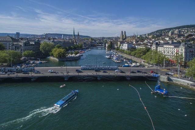 Quaibrücke & Central, Zurich, Switzerland