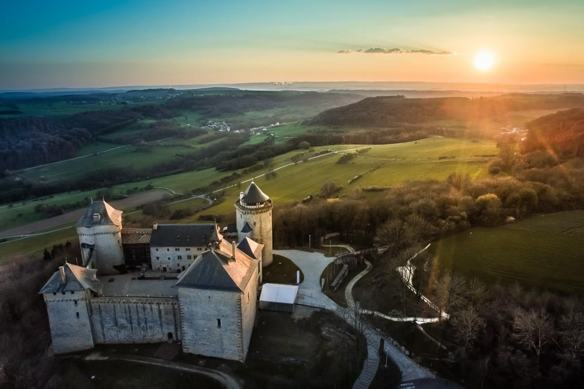 Malbrouck Castle, Manderen, France