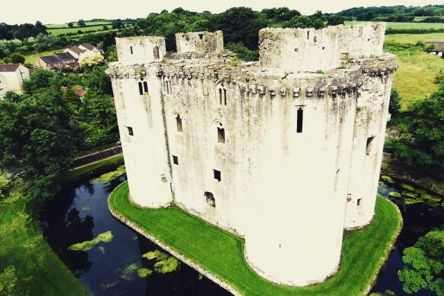 Nunney Castle,Nunney,Somerset,England