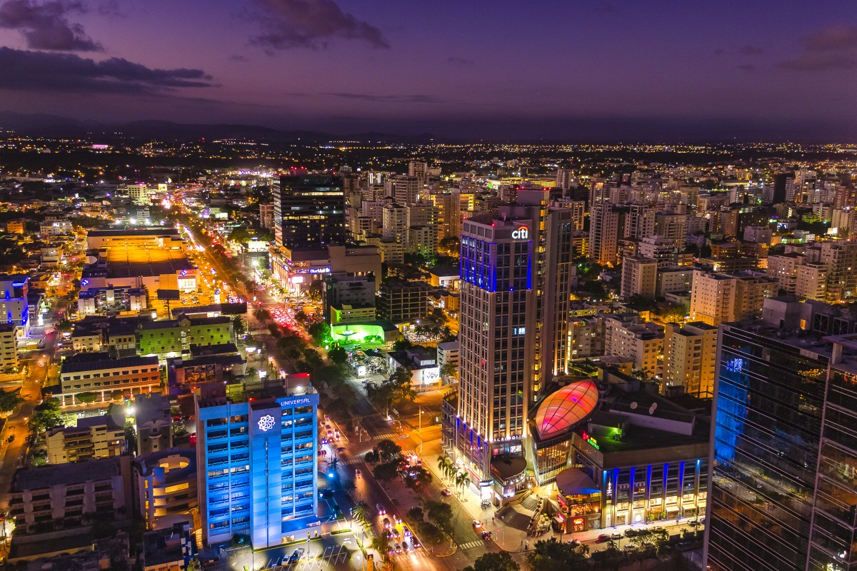 Downtown Santo Domingo Dominican Republic Dronestagram