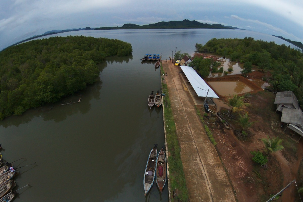 Koh Sriboya (Krabi) Thailand  city pictures gallery : Koh Sriboya Island, Krabi, Thailand | Dronestagram
