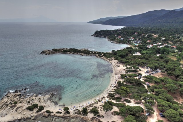 Karidi beach, Vourvourou, Sithonia, Halkidiki, Greece