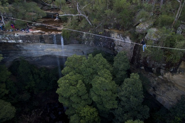 royal national park waterfall NSW Australia