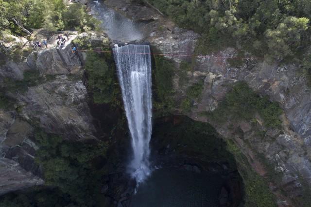 belmore falls nsw Australia