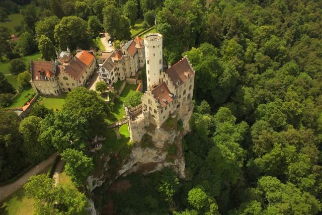 Visite at Castle Lichtenstein