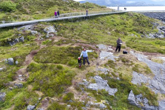 The Atlantic Road Atlanterhavsveien. Norwey