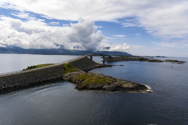 The Atlantic Road Atlanterhavsveien. Norwey