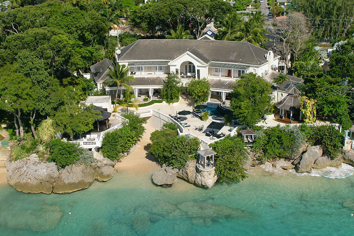 Cove spring house st james barbados dronestagram for The cove house
