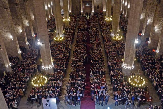 Basílica de Santa Maria del Mar, Barcelona, Spain