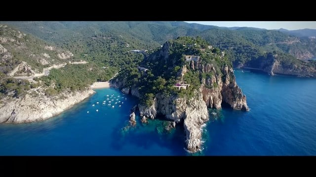 Costa Brava feeling by drone