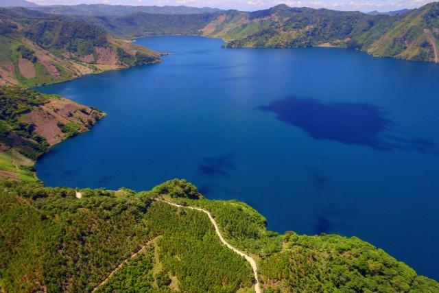 Laguna de Ayarza, Santa Rosa, Guatemala