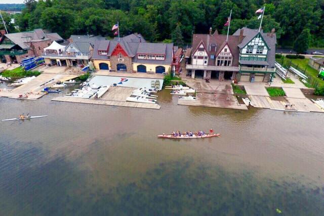 Boathouse Row – Philadelphia, Pennsylvania, USA