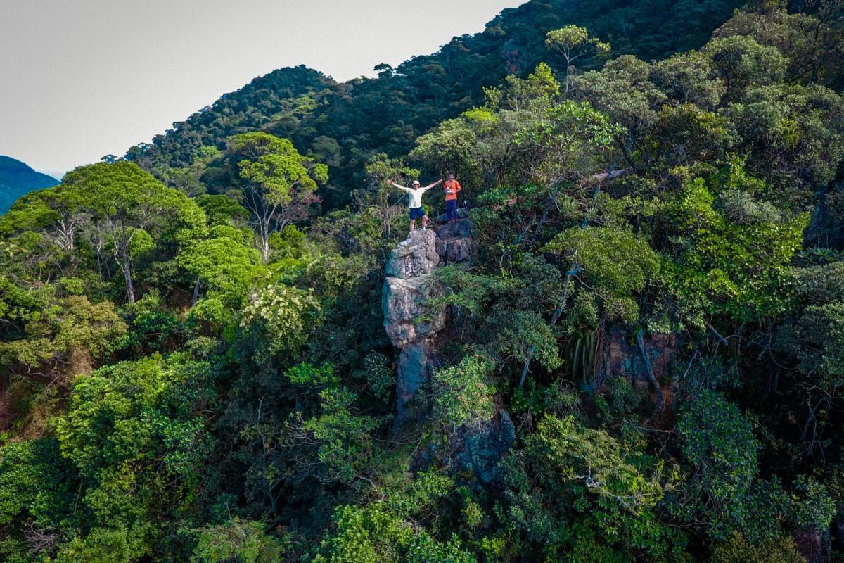 Pedra da Proa, Floresta da Tijuca, Rio de Janeiro, Brasil ...