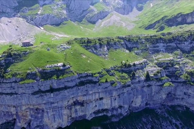 Refuge Blonay-Dufour, Montmin, Haute-Savoie, France