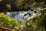 Waterfalls Krka,National park Krka, Croatia