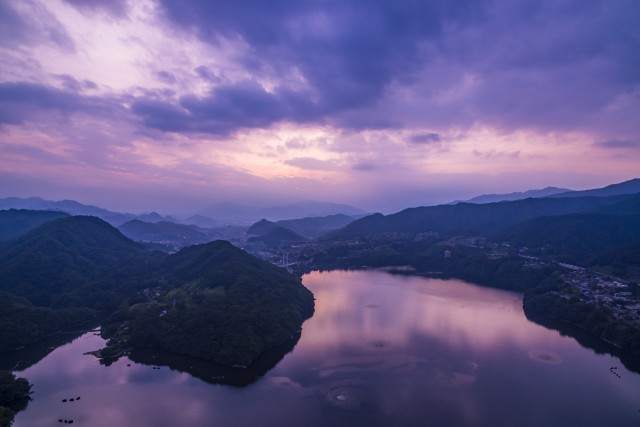 Lake Sagami, Midori-ku, Sagamihara, Kanagawa, JAPAN