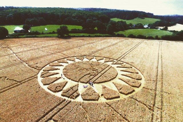 Cley Hill Crop Circle