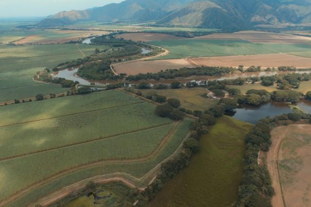 Madrevieja Videles, valle geográfico del río Cauca. Colombia
