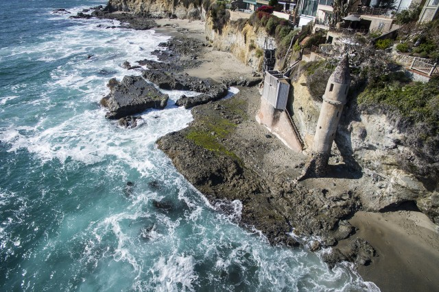 Victoria Beach, Laguna Beach, California