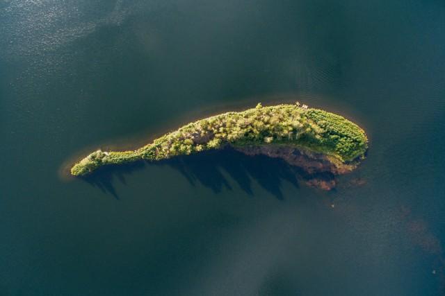 Lake Arakul. Russian Federation