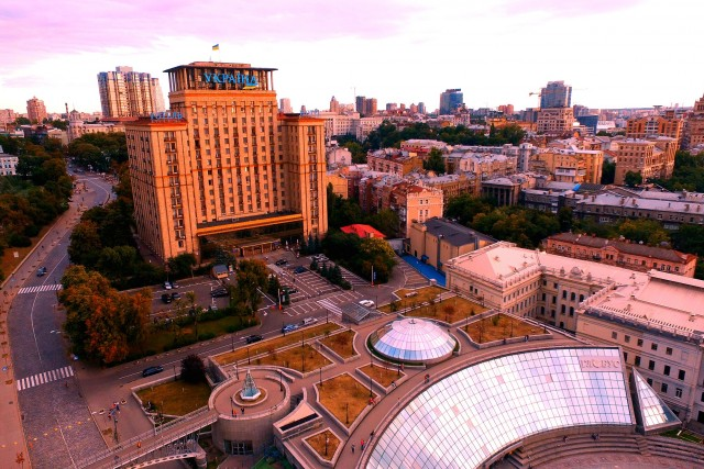 Maidan Nezalezhnosti,Kyiv,Ukraine