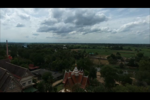 Temple Sanam Yae, Kanchanaburi, Thailand