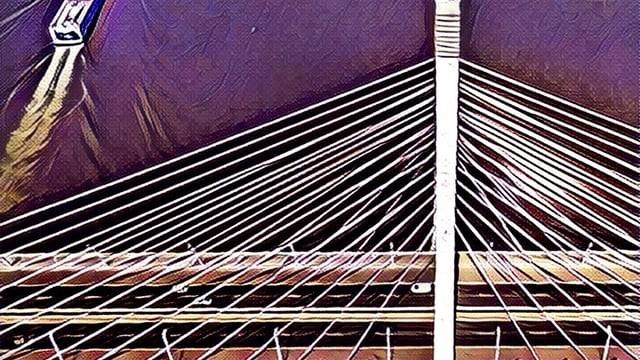 Megyeri-bridge, Budapest