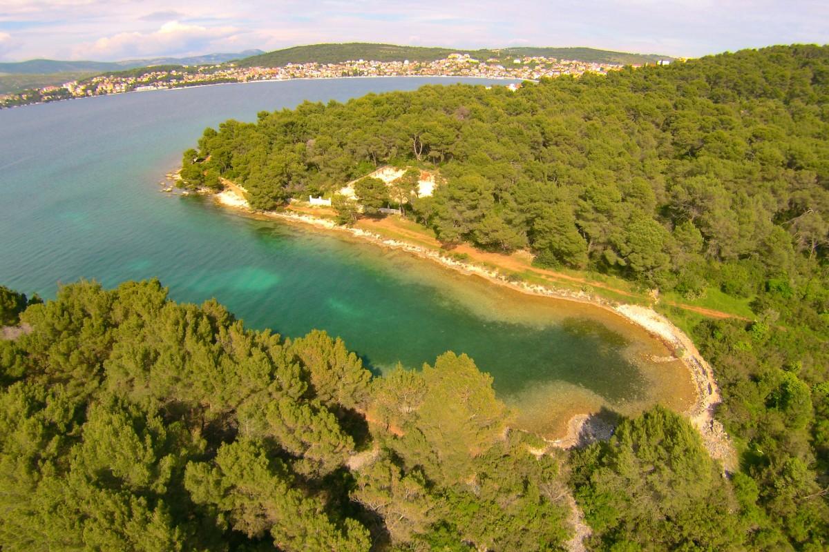 Quiet Little Cove, Island Ciovo, Croatia