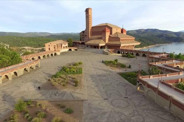 Santuario de Torreciudad, Secastilla, Aragon, Spain